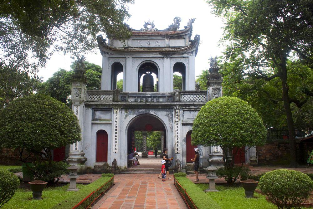 Temple of Literature. Hanoi