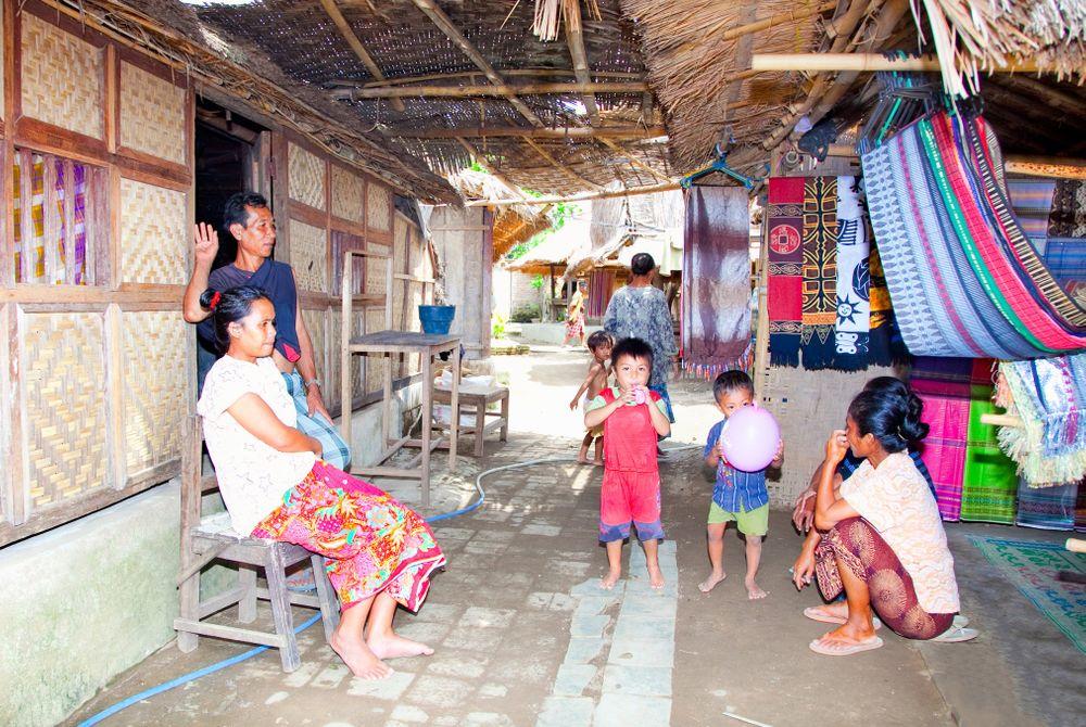 Sasak-dorpje, Lombok