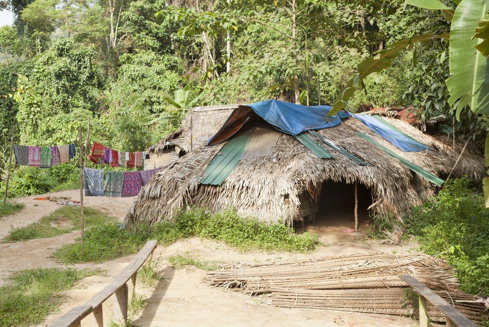 Orang Asli dorp, Taman Negara