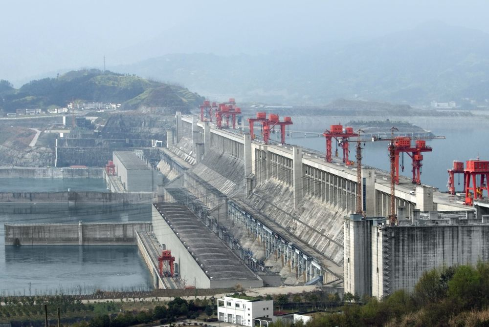 Drieklovendam, Yangtze rivier