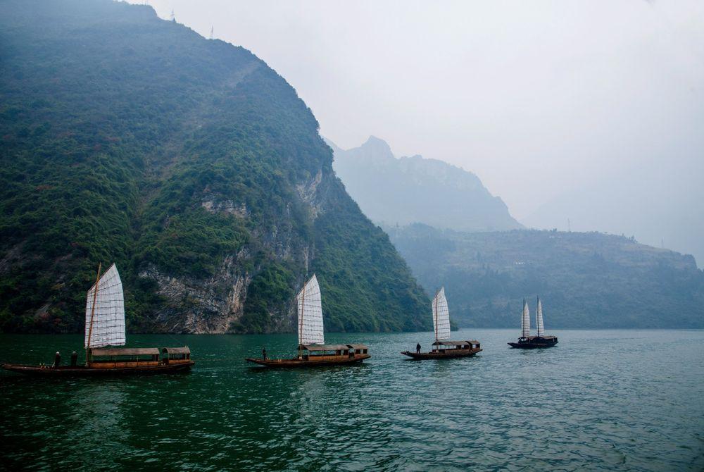 Wu Gorge, Yangtze