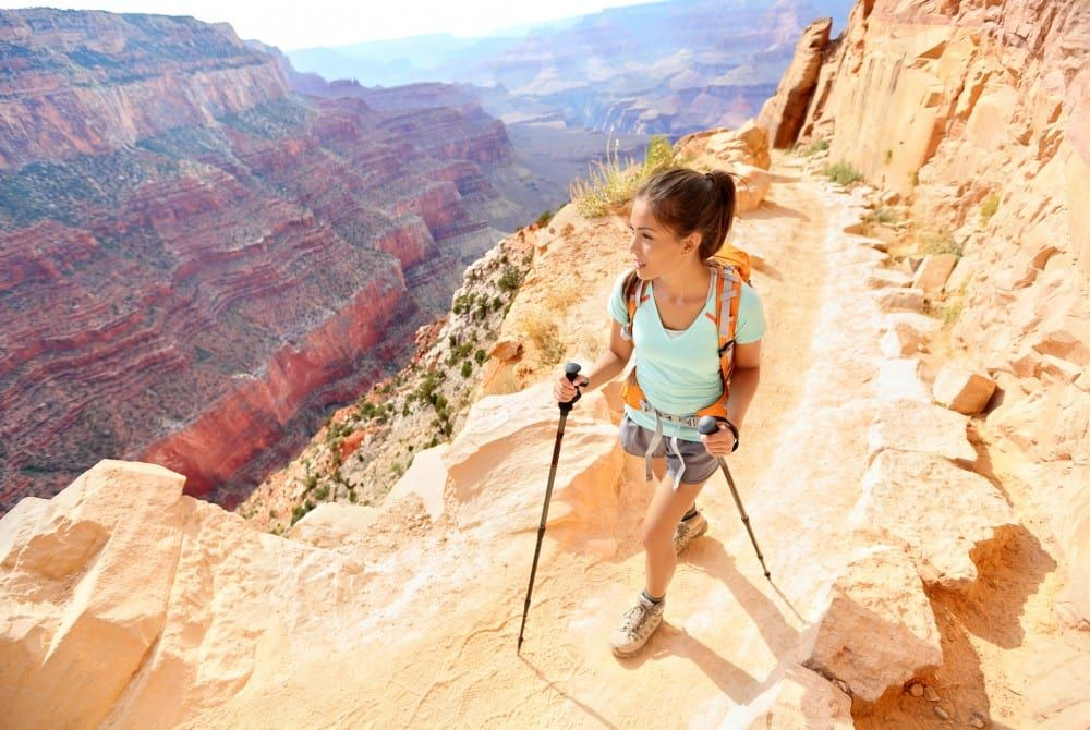 Hiken in de Grand Canyon