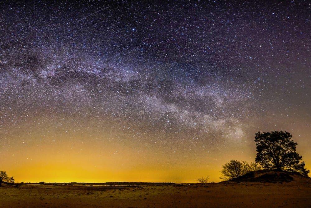 Melkweg vanaf Veluwe