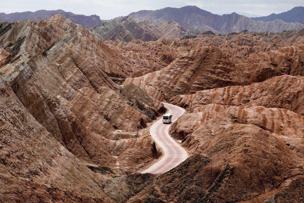Het Zhangye Danxia Nationaal Geologisch Park
