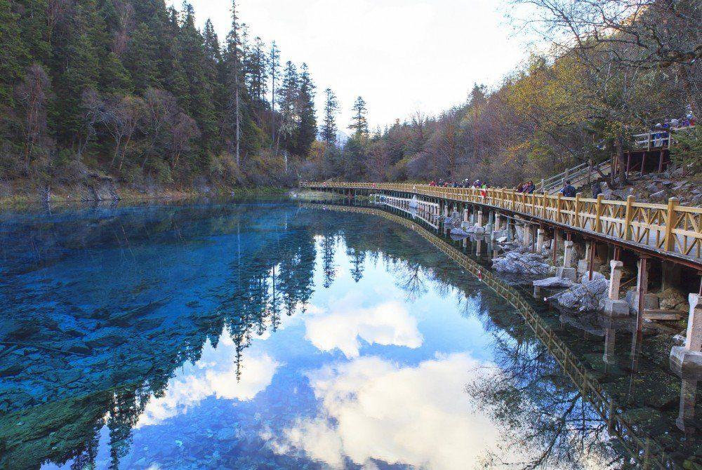 Jiuzhaigou-vallei