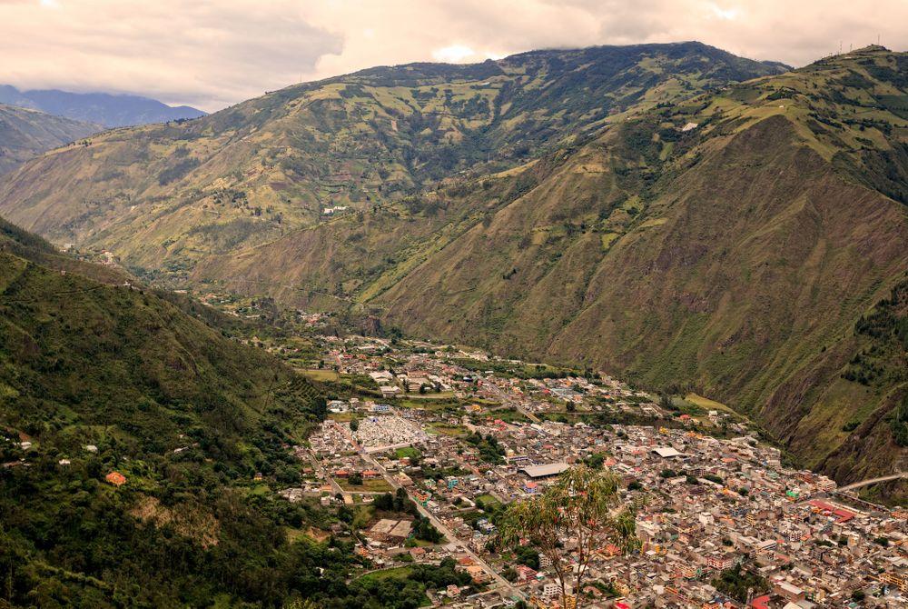 Baños de Agua Santa: Ecuadoriaanse gezelligheid