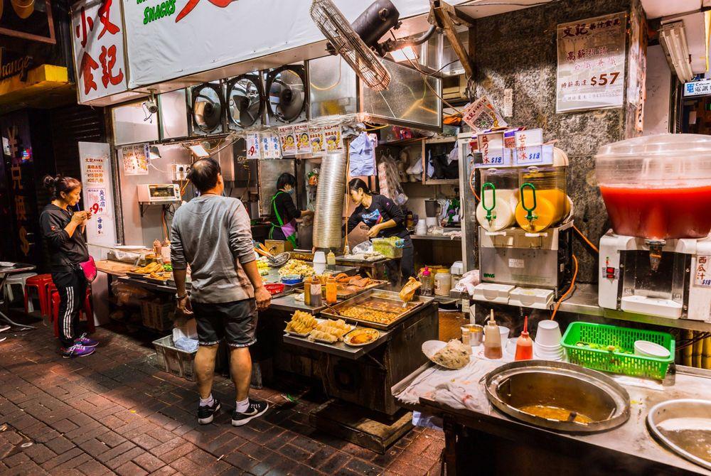 FOTOSERIE: street food
