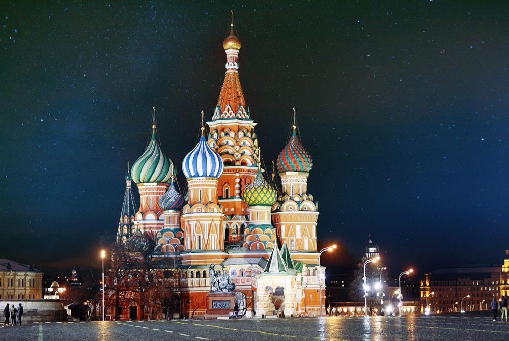 VIDEO: time lapse Moskou