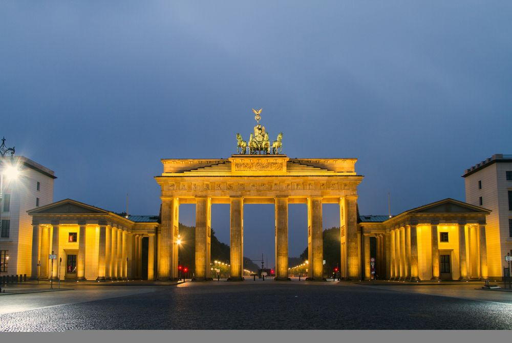 Berlijn zien vanuit bed