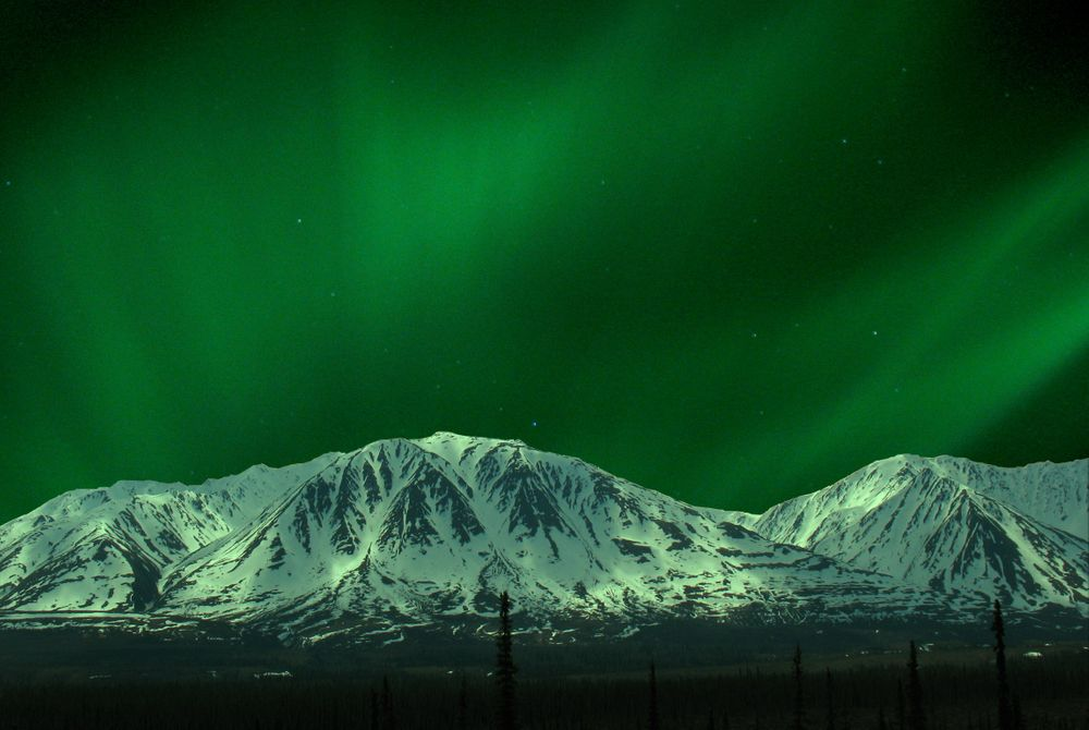 3 plaatsen om het noorderlicht in Amerika te bewonderen