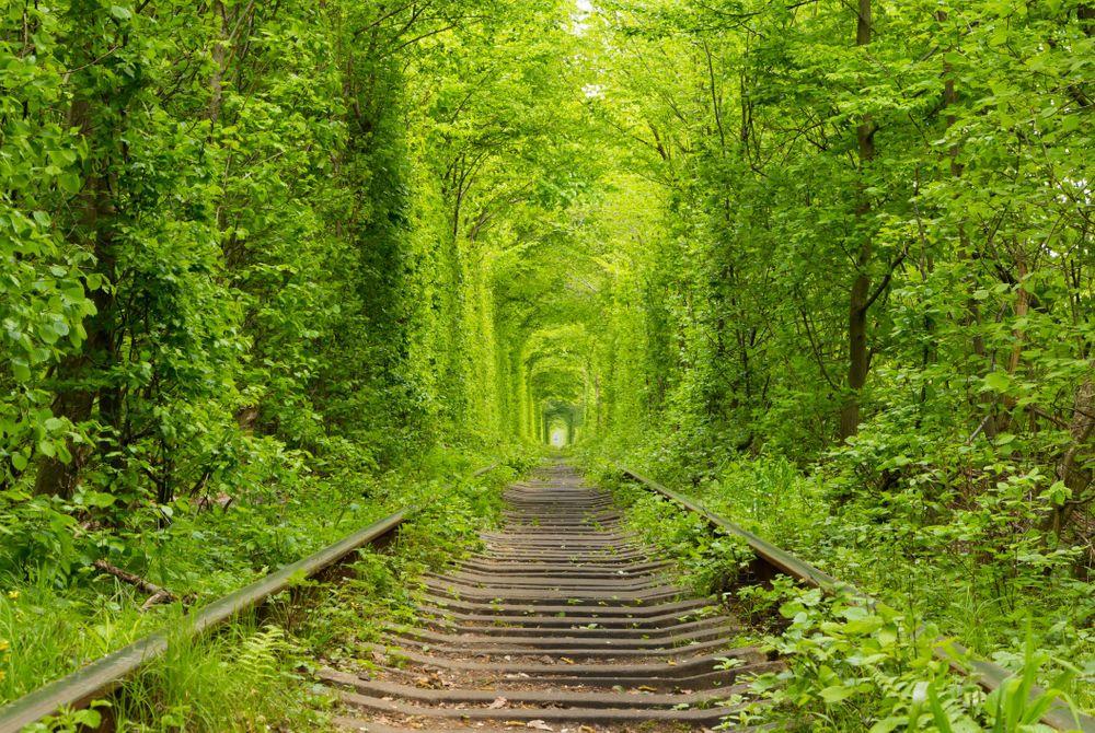 De Tunnel of Love in Oekraïne