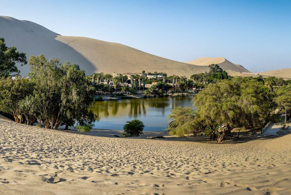 Huacachina: kleine Peruaanse oase die dreigt te verdwijnen