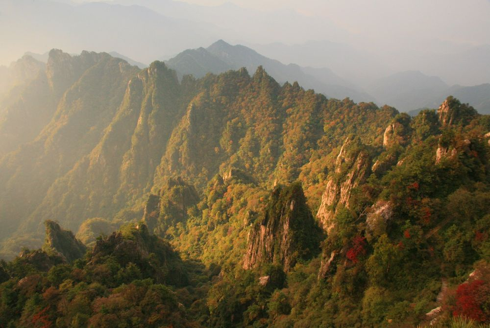 FOTOSERIE: Schitterende Chinese bergen