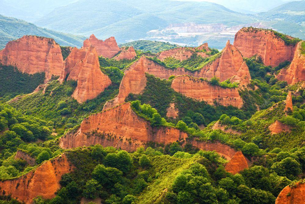 Las Médulas: Uniek landschap in Spanje