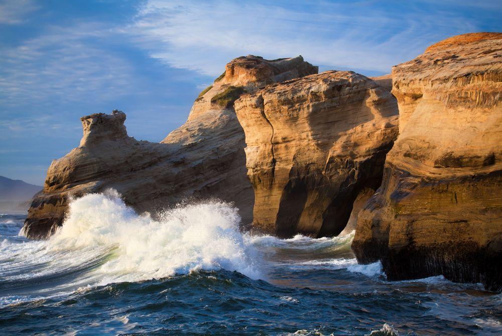 VIDEO: Oregon's kust