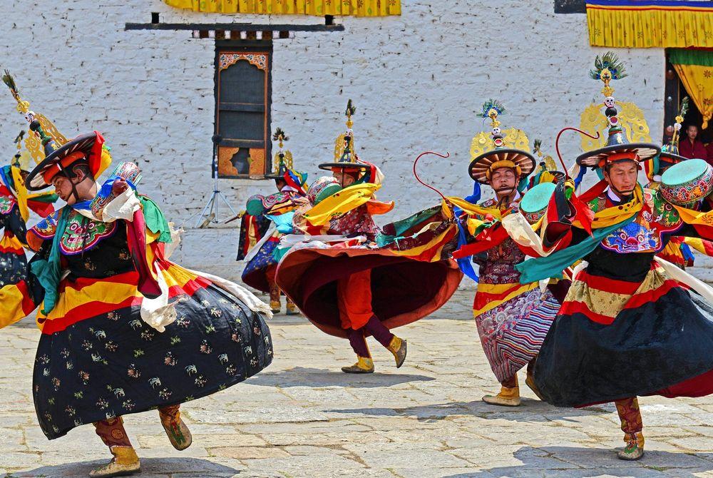 Tshechu's: De bijzondere festivals in Bhutan