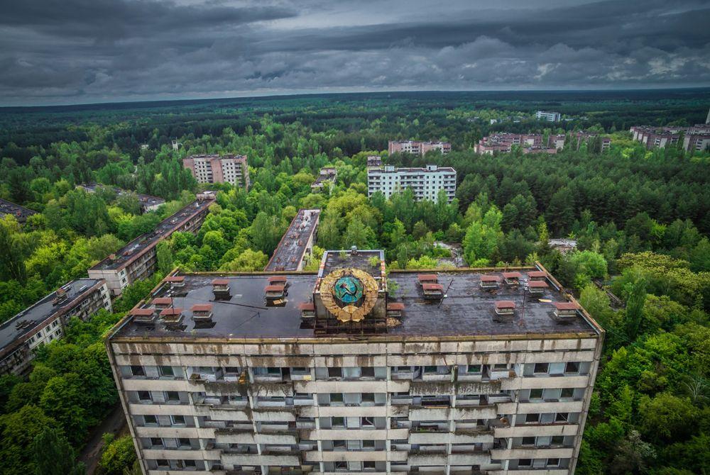 VIDEO: Het verlaten Tsjernobyl