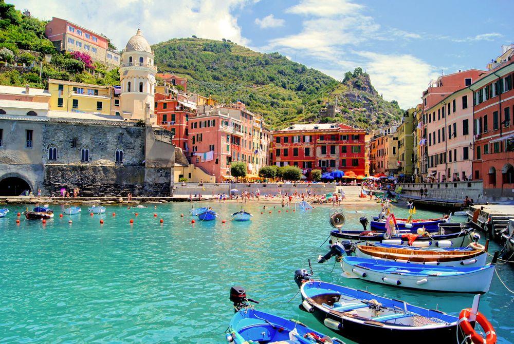 Prachtig dorp op een klif in Italië: Vernazza