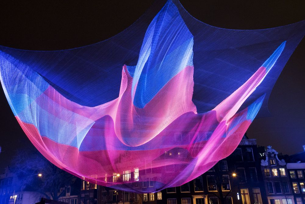 VIDEO: Het Amsterdam Light Festival in een Timelapse