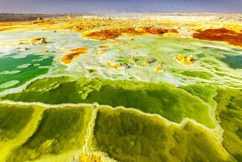 15 van 's werelds meest kleurrijke landschappen