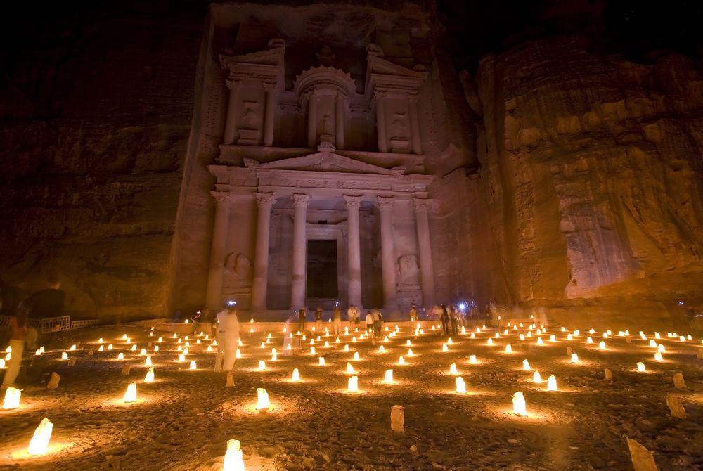 Petra, rotsenstad van de Nabateeër-koningen