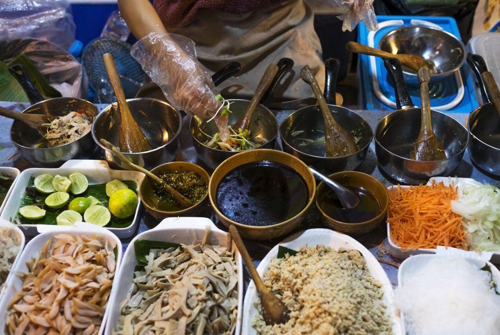 De top 10 steden voor street food