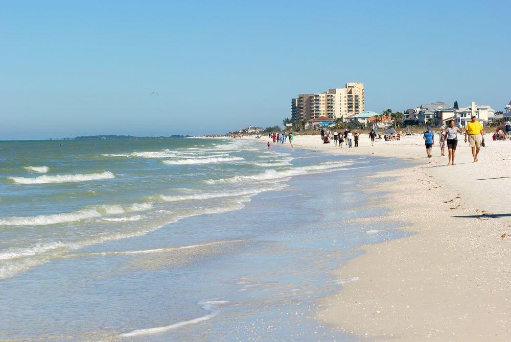 De top 10 stranden in Amerika