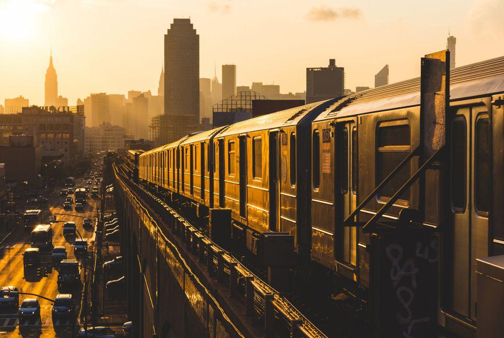 Met de trein van Londen naar New York?