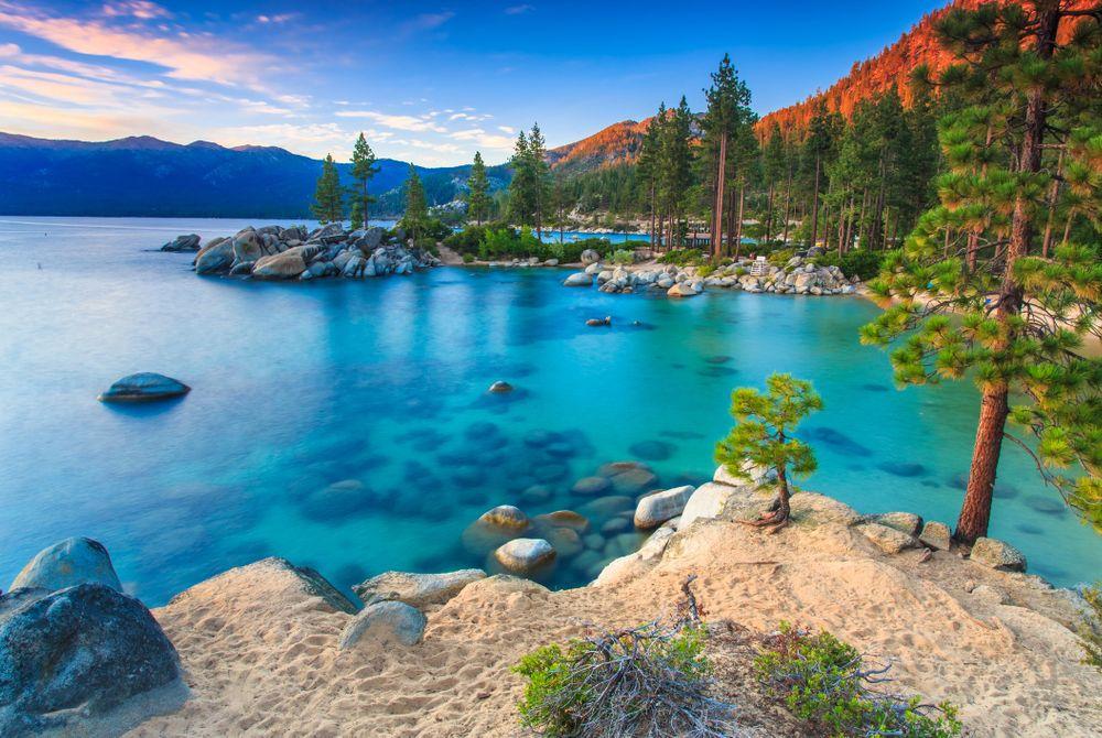 Lake Tahoe: Schitterend helder meer in de VS
