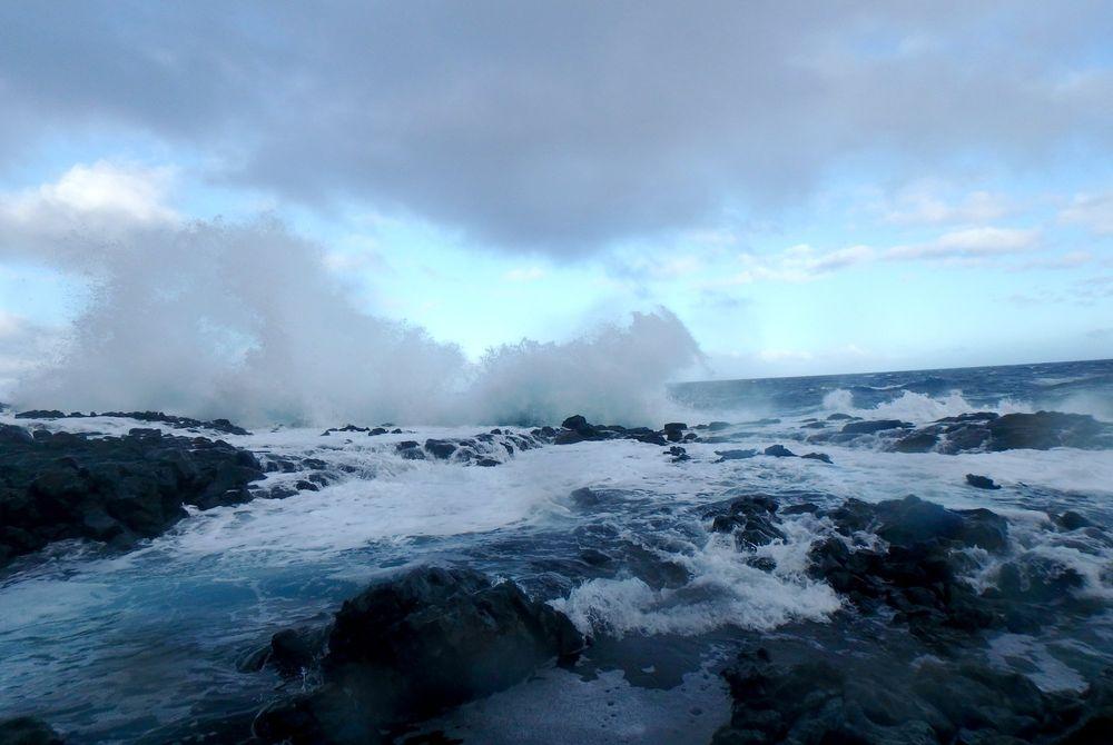 De natuurlijke zwembaden van Hawaï