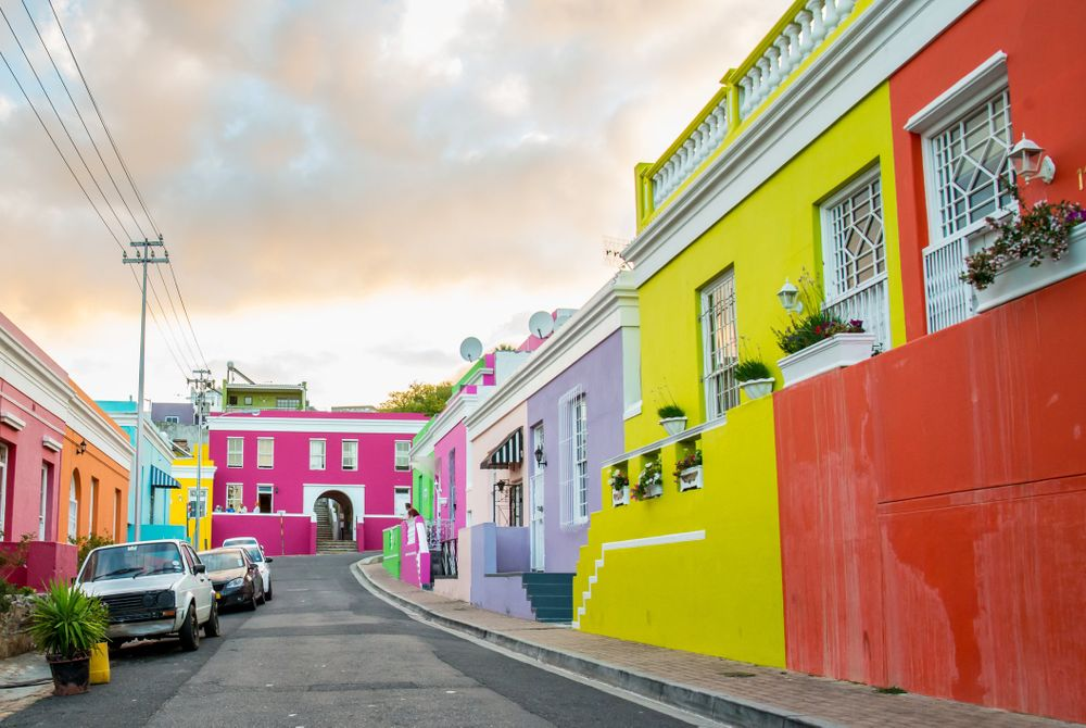 Bo-Kaap, een kleurrijke buurt in Kaapstad