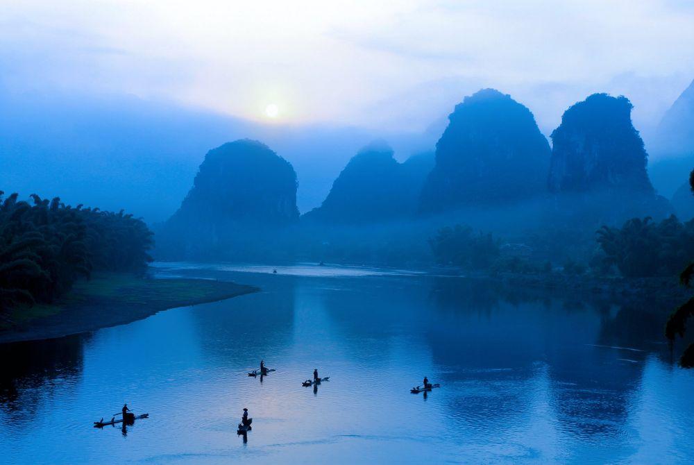 De Li Rivier in China