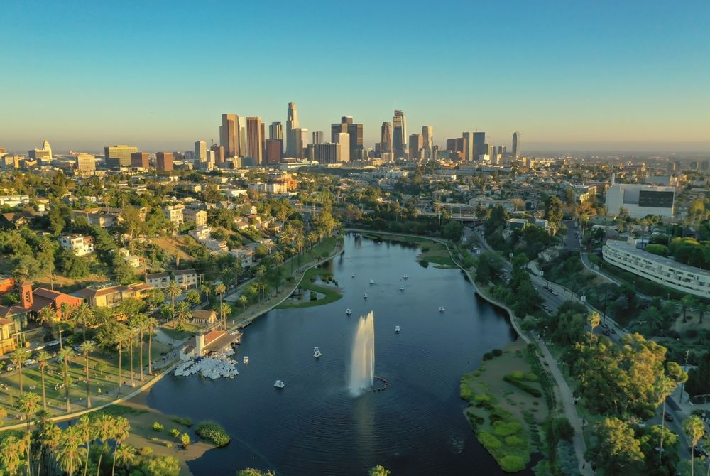 VIDEO: Prachtige beelden van Los Angeles gefilmd met een drone