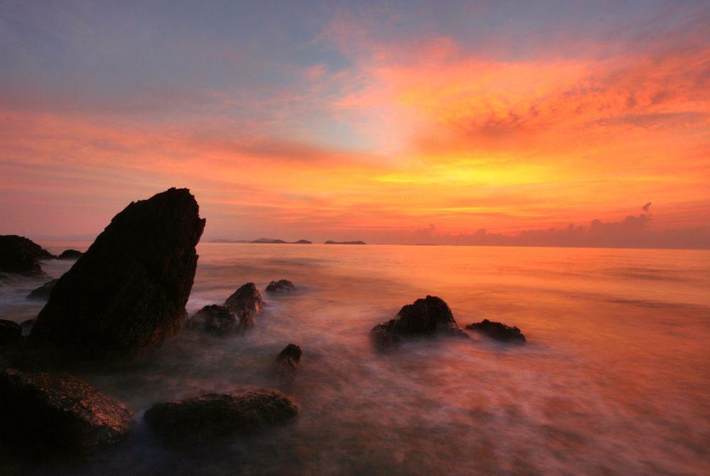 Opkomende strandbestemming in Thailand: Khanom