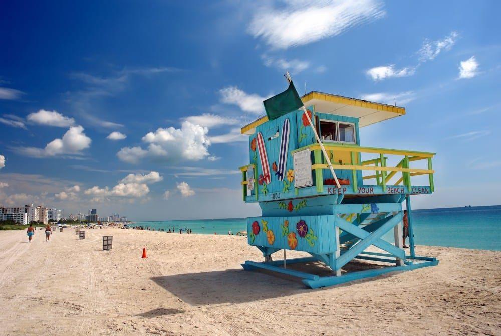 De 5 mooiste stranden van Miami