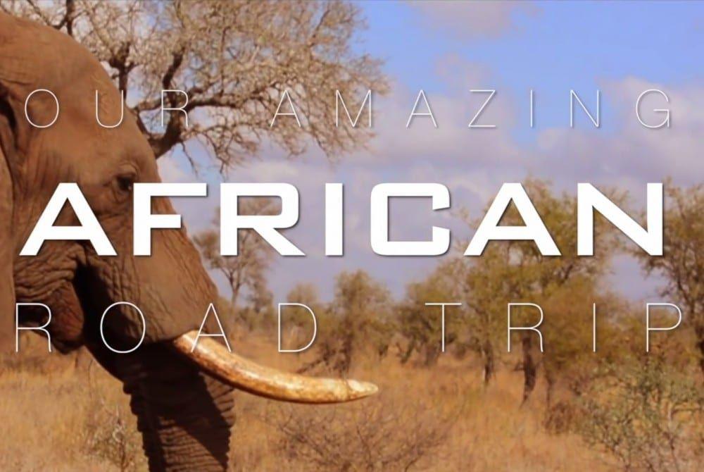 Schitterend filmpje: Fantastische road trip in Afrika