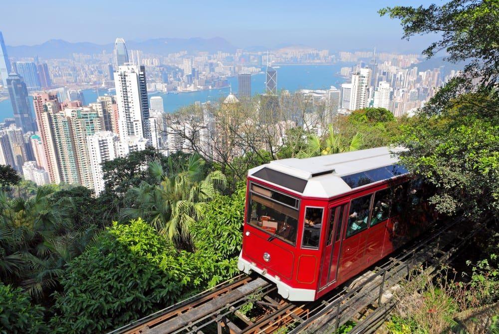 Victoria Peak: Hong Kong aan je voeten