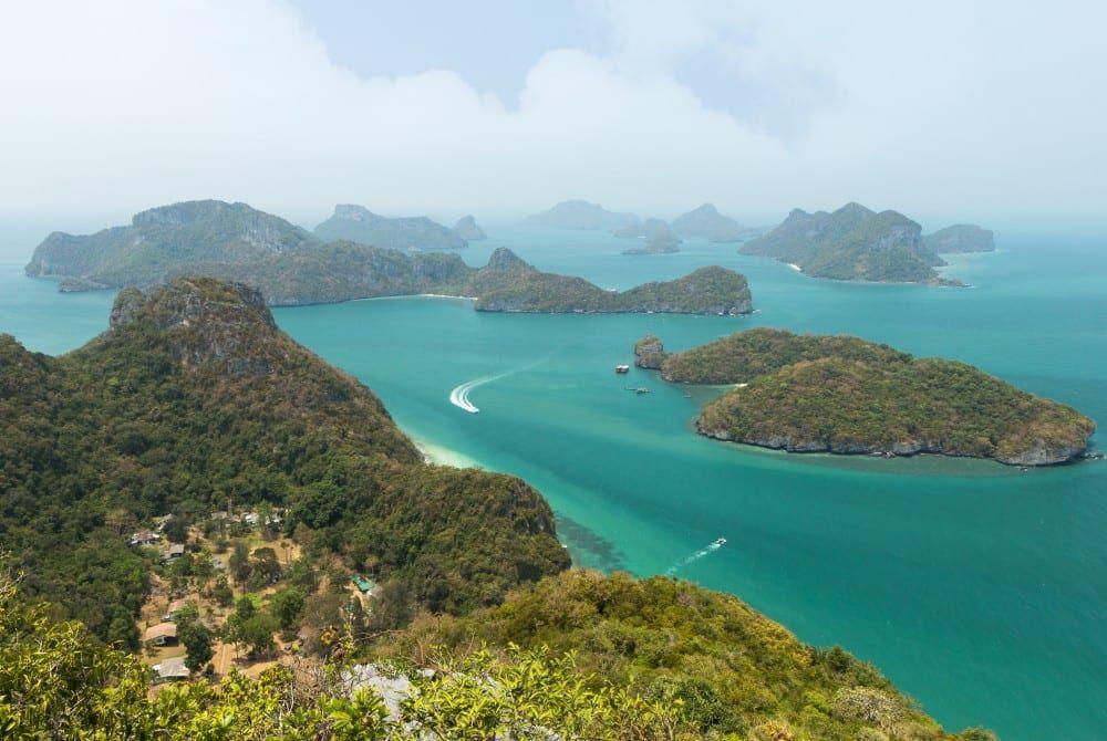 Ang Thong National Marine Park: Bounty-eilanden bij Koh Samui