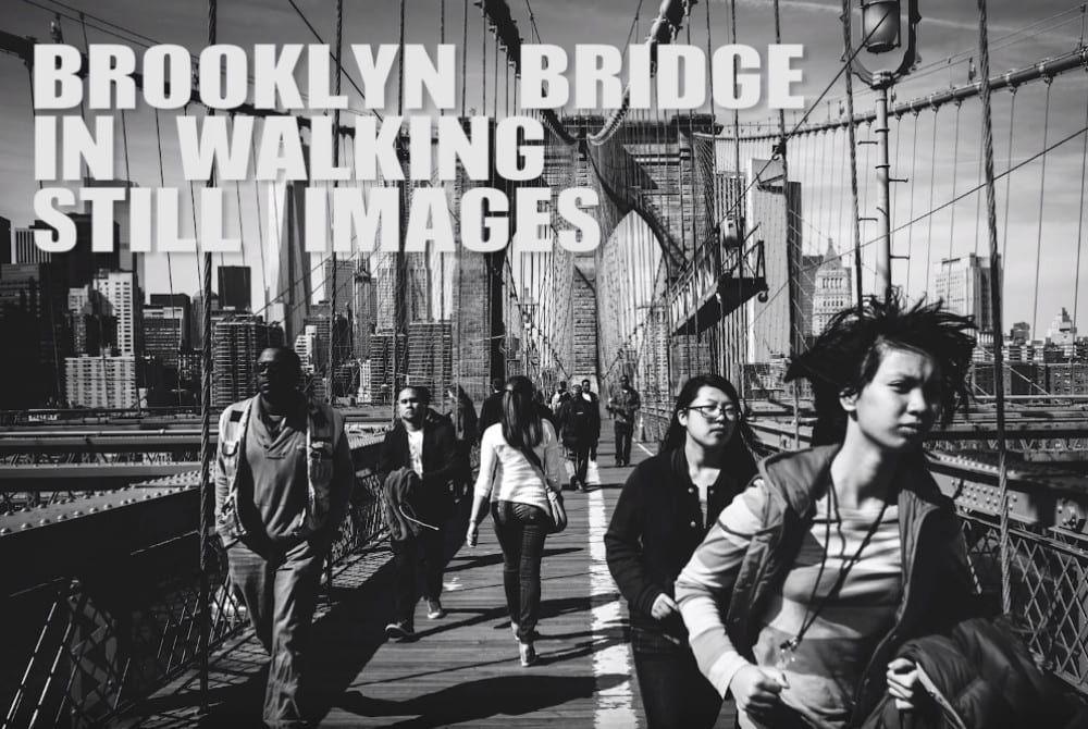 Een wandeling over de Brooklyn Bridge in 1.177 foto's