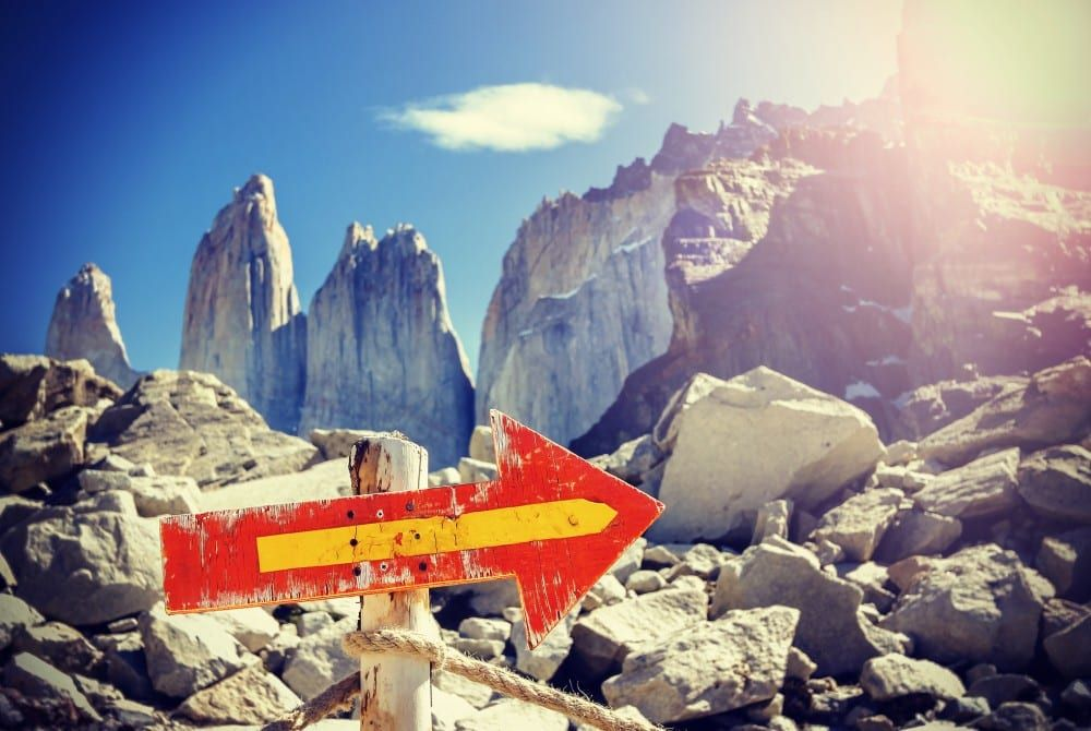 De W-trail wandelen in Torres Del Paine