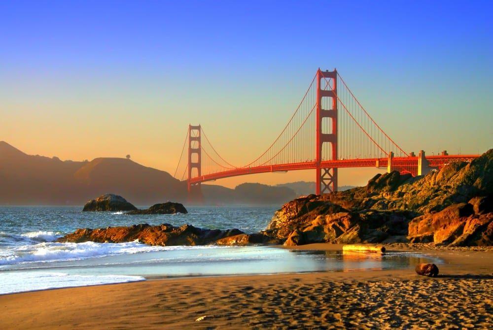 De magie van de Golden Gate Bridge in San Francisco