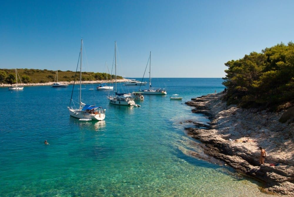 De 7 mooiste stranden van Kroatië