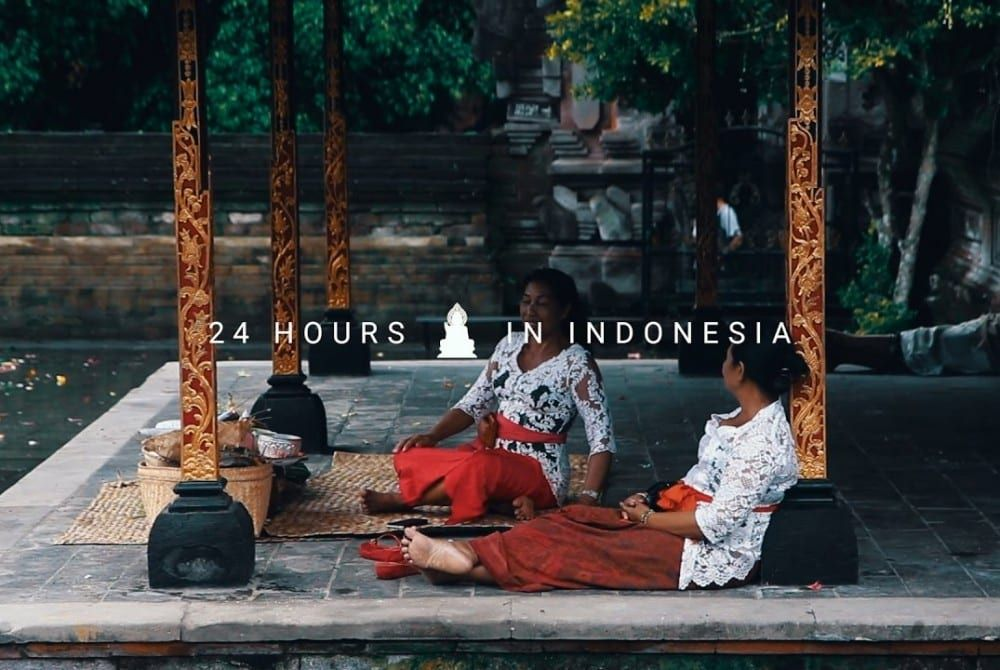 24 uur op Bali: héél gaaf filmpje