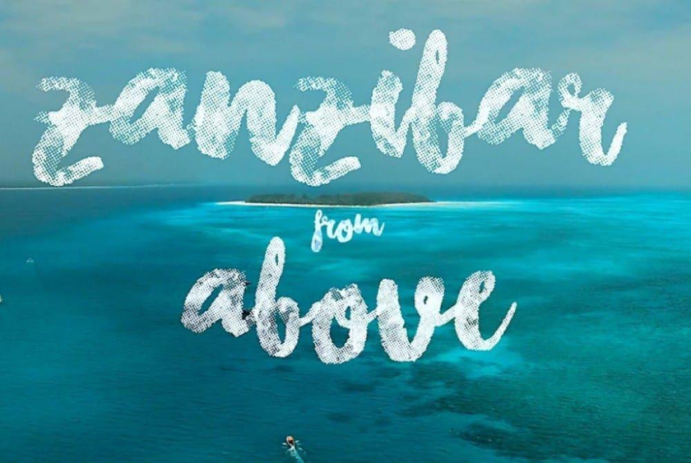 Zanzibar vanuit de lucht: bijna nóg mooier!
