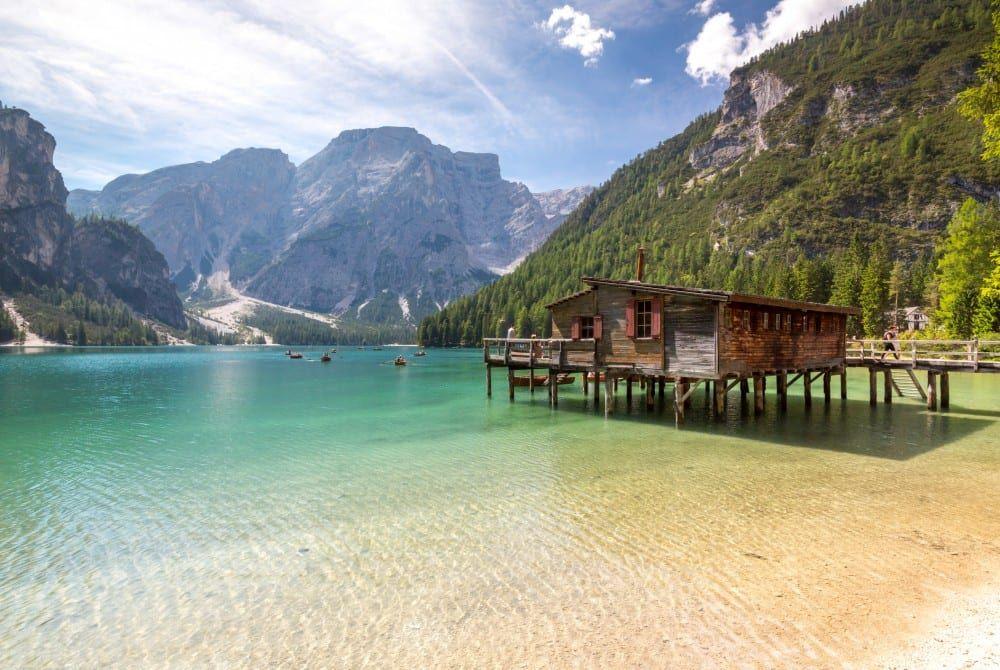 De mooiste meren van Zuid-Tirol, Italië