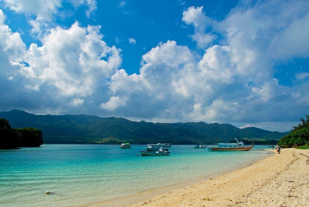 Dit zijn de 7 mooiste stranden van Japan