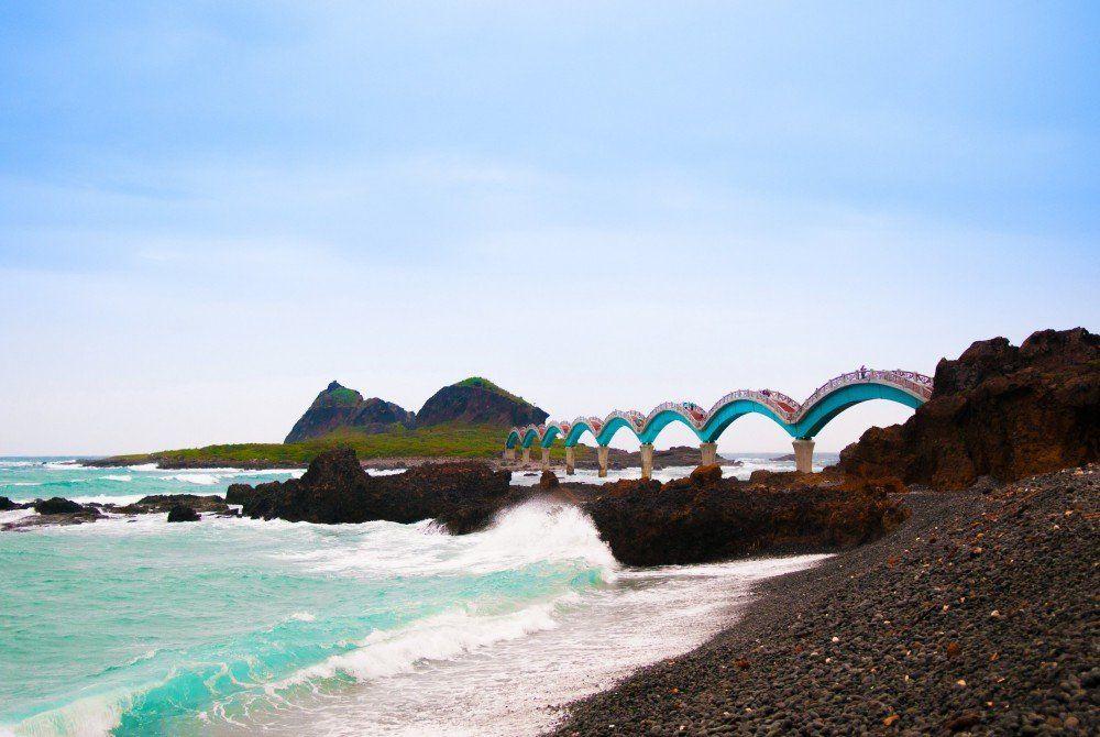 5x mooiste stranden Taiwan