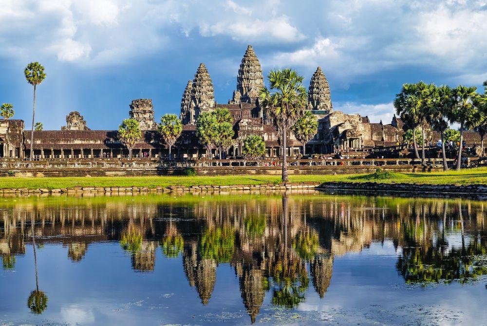 Angkor Wat naar India