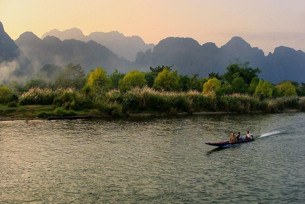 Nieuwe grot bezienswaardigheid Laos