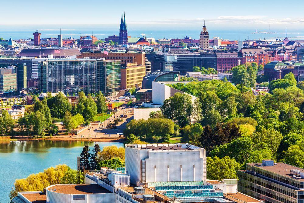 Helsinki in de zomer
